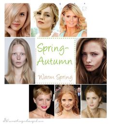 Are you a Spring-Autumn (Warm Spring - Color Analysis Bright Spring, Warm Spring, Warm Autumn, Color Type, Type 1, Spring Color Palette, Spring Colors, Color Palettes, Winter Typ