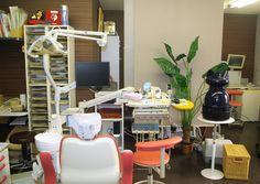 at dental clinic.