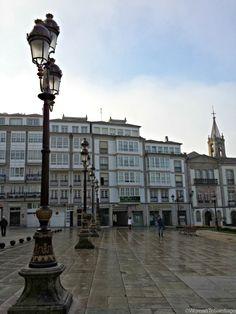 Praza do Concello de #Lugo, #Galicia. #CaminoPrimitivo
