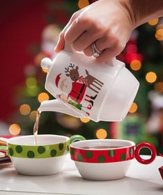 Another great find on #zulily! Naughty or Nice Ceramic Tea Set by Cypress Home #zulilyfinds