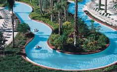 Omni Orlando Resort at ChampionsGate - Grab a tube and ride the long and winding lazy river