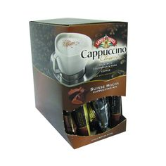 Land O Lakes Cappuccino Classics Mix Suisse Mocha .63 Oz Case Of 18