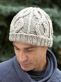 Cable Hat | Yarn | Free Knitting Patterns | Crochet Patterns | Yarnspirations