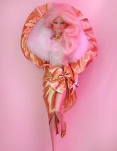 Jem glitter and gold - my fav doll when I was a kid.