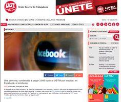 Una persona, condenada a pagar 3.000 euros a UGT-A por insultar, en Facebook , al sindicato http://goo.gl/rmBVLj