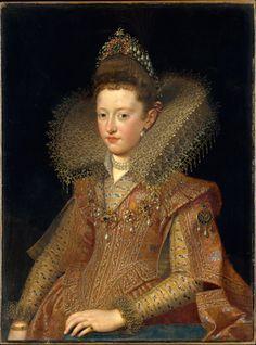 Frans Pourbus the Younger, Margherita Gonzaga, Princess of Mantua, early 17th century