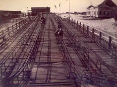 Gravity Steeplechase Racecourse on Isle of Palms, ca. 1901, Charleston Museum.