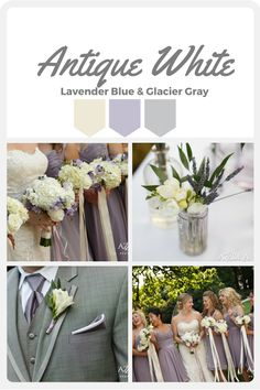 Lavender Blue, Glacier Grey and Anitque White wedding color palette.  Wedding Planning by Perfectly Posh Events.  Photo by Azzura Photography.  Flowers by Sublime Stems. Laurel Creek wedding venue.