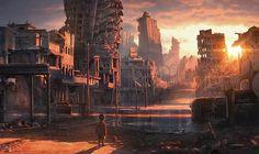 Post-Apocalyptic Art   Post-Apocalyptic Art   Collapse of Industrial Civilization
