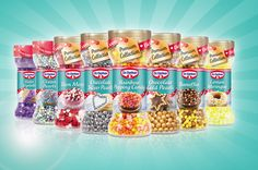 The NEW Dr. Oetker range of sprinkles! From Rainbow Popping Candy to Lemon Meringue sprinkles, these decorations not only look gorgeous but taste great! www.oetker.ie