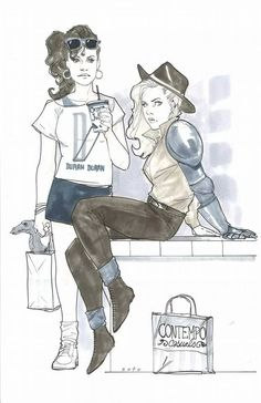 Phil Noto - Kitty Pryde and Magik