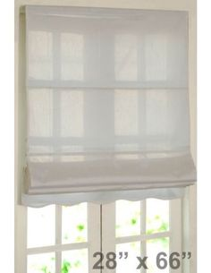 "#DecoWindow #Blinds Roman Blind Bangalore Silk 28"" Ivory on specia lrice ₹499.00"