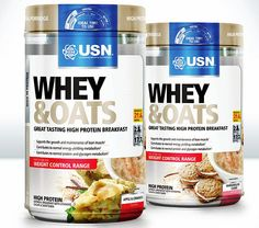 USN Whey & Oats Protein Porridge