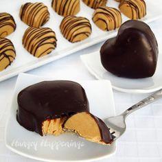 Chocolate Valentine's Day Hearts