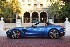 The Ferrari F60 America, the first of just ten units to hit the US streets, was delivered today at the 25th annual Palm Beach Cavalli...
