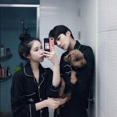 Style Ulzzang, Ulzzang Girl, Girl Couple, Sweet Couple, Cute Relationship Goals, Cute Relationships, Cute Couples Goals, Couple Goals, Cute Korean