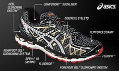 See related links to what you are looking for. Asics Running Shoes, Asics Shoes, Gel Cushion, Asics Men, Workout Accessories, How To Run Longer, Casual Shoes, Dress Shoes, Bike