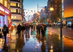 Oxford St in the Rain.tif by Mike Griggs on 500px