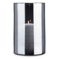 Skogsberg & Smart Hurricane extra large glass lamp - Silver