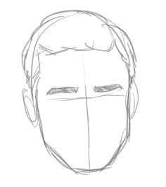 how to draw a boy face easy - Google Search