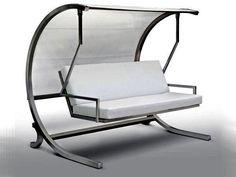 Furniture Marvellous Garden Swing Design Ideas With Cream