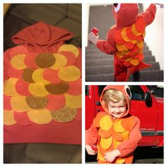 Homemade Halloween costume - Fish!! Kid Costumes, Homemade Halloween Costumes, Halloween 2017, Holidays Halloween, Costume Ideas, Halloween Party, Diy Projects To Try, Craft Projects, Crab Costume