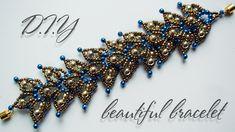 Bracelet | How to make bracelets | DIY | Beaded Bracelet Tutorial | Blac...