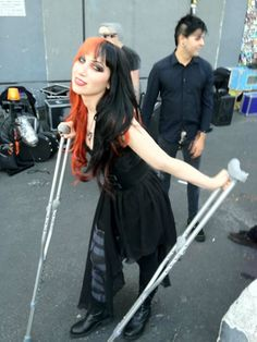 New Year's Day Ashley Costello | Ashley Costello (New Years Day) issues statement regarding stage ...
