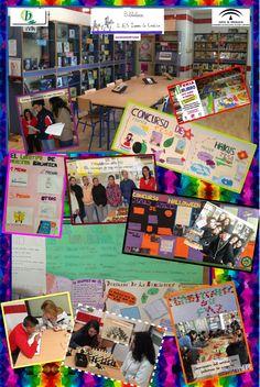 Servicios, programas y actuaciones de la biblioteca escolar del IES Isabel la Católica de Guadahortuna, vía Elisabeth Ortega.