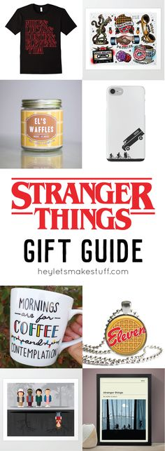 This Stranger Things gift guide has everything you need for a trip to the Upside Down: string up some Christmas lights, pull out Dungeons & Dragons, and toast some EGGOs!