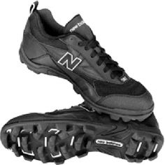 SALE - New Balance SC502BF Football Cleats Mens Black Leather - Was $49.95 - SAVE $11.00. BUY Now - ONLY $39.00