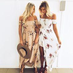 2017 Hot Women's Summer Boho Long Maxi Dress Evening Cocktail Party Beach Dress