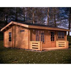chalet en bois habitable nova - 44 mm - Achat / Vente abri jardin - chalet Chalet en bois habitable No - Soldes* d'été Cdiscount