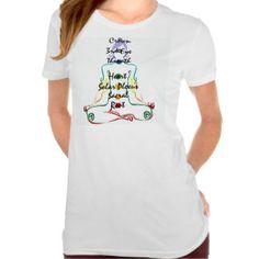 Señora Chakras Camiseta