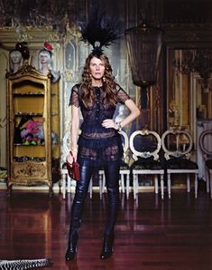 For the ones who follow fashion world Anna dello Russo is like a myth.