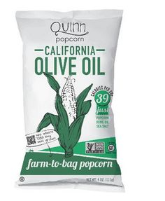 For a snack in a hurry, check out this California Olive Oil Organic Popcorn - 12 Pack.