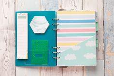 Filofax clipbook planner - Sam Alderson