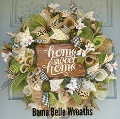 Home sweet home everyday wreath
