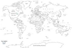 Blank World Map Best Photos Of Printable Maps Political