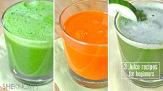 Juicing tips and recipes for first-timers