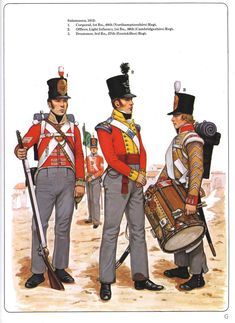 Osprey - Men-At-Arms 114 - Wellington's Infantry British Army Uniform, British Uniforms, Military Art, Military History, Military Uniforms, Marina Real, British Armed Forces, Royal Marines, Napoleonic Wars