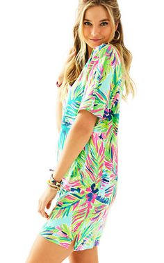 Lilly Pulitzer Lindley Caftan Dress