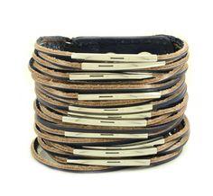 Ashby Fringed Leather Bracelet