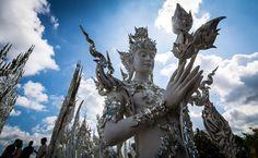 Kinaree - Statue at Wat Rong Khun, Thailand