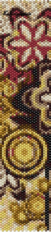 I peyote di Lufantasygioie: pattern astratti