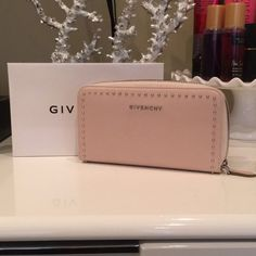 Givenchy Pandora Studded Leather Wallet AUTHENTIC! Lightly used. Great condition. Comes with original box, tags, and authenticity cards. You can't find this wallet in the US! NO TRADES. Givenchy Bags Wallets