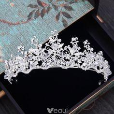 Wedding Tiaras, Bling Wedding, Crystal Wedding, Dream Wedding, Wedding Sets, Headpiece Jewelry, Hair Jewelry, Bridal Jewelry, Princesa Real