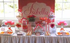 Pretty Sweet Candy Buffets - Photo Gallery for wedding and party candy buffets in NJ NY, custom candy buffet colored themes