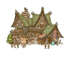 Image - MLaaK Guild hall.jpg - The Final Fantasy Wiki has more Final Fantasy information than Cid could research via PinCG.com