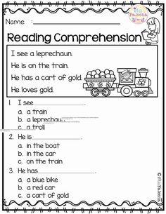 Comprehension Worksheets For Kindergarten Kindergarten Sight Word Worksheets, Free Kindergarten Worksheets, Phonics Worksheets, Kindergarten Reading, Preschool Kindergarten, Printable Worksheets, Teacher Worksheets, Halloween Worksheets, Addition Worksheets